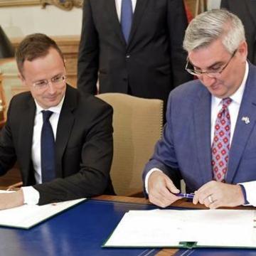 Tovább erősítheti autóiparunkat Magyarország és Indiana állam gazdasági együttműködése