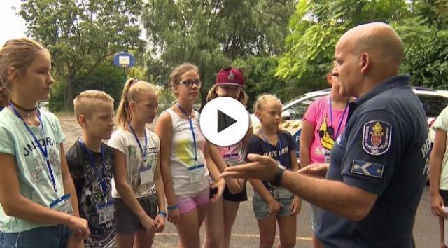 Játékos módon tanulhatják meg a gyerekek a bűnmegelőzést - VIDEÓVAL