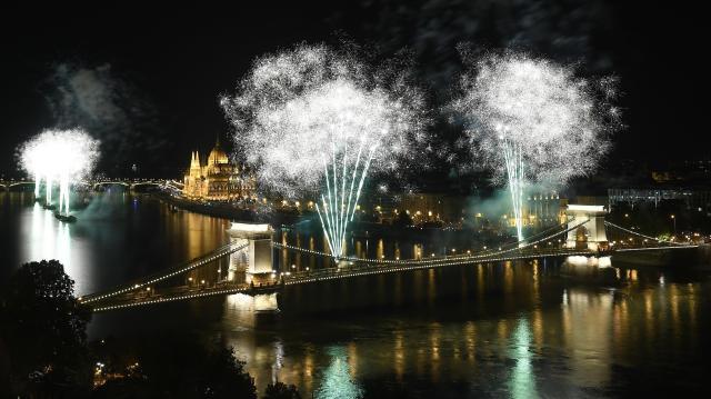 Augusztus 20. - Országszerte és a határokon túl is az államalapítást ünnepelték