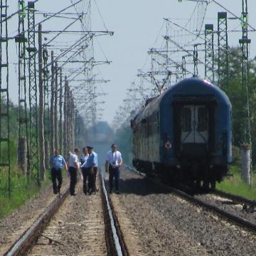 Halálos vonatgázolás Baranyában