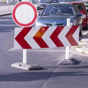Ideiglenes forgalomkorlátozás Siklóson
