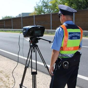 Nagyszabású sebességellenőrzési akció lesz az utakon