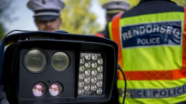Országos sebességellenőrzési akciót tart a rendőrség a héten