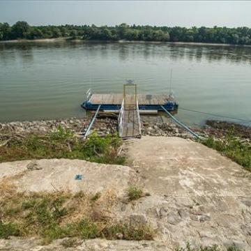 A vártnál kevésbé emelkedett a Duna vízszintje