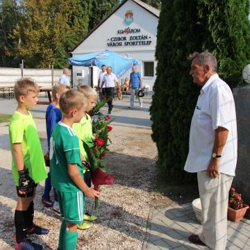 Labdarúgó tornával emlékeztek Czibor Zoltán születésnapjára