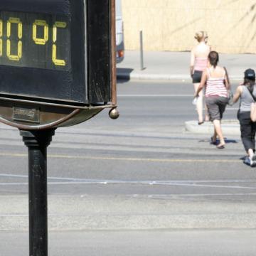 A 20. század vége óta emelkedik jelentősen a hőségnapok száma