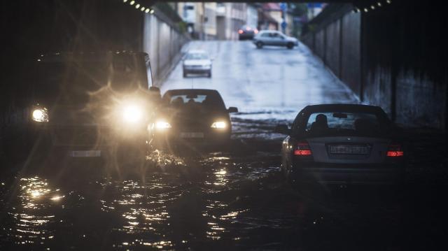 A keleti országrészt is elérte a heves esőzés