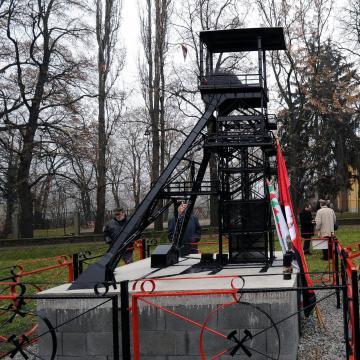 Pécsen ünnepelték az ország minden bányászait