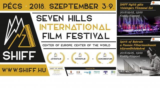 Elkezdődött a Seven Hills nemzetközi filmfesztivál Pécsen