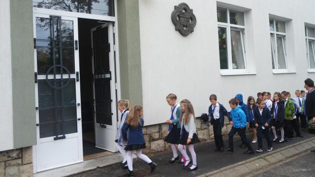 Elkezdődött a tanév a megújult Marianum iskolában is
