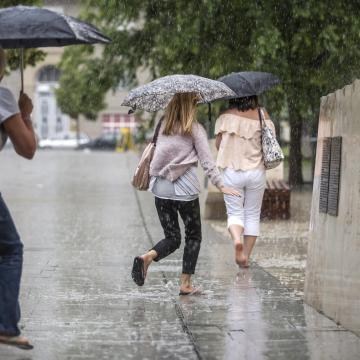 Extrém mennyiségű eső esett térségünkben