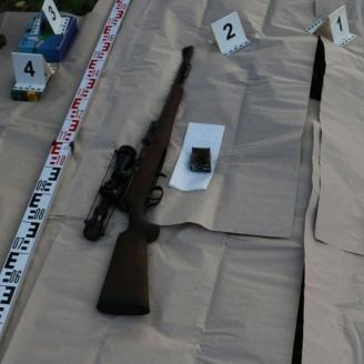 Illegálisan tartott fegyvereket foglaltak le Somogyban