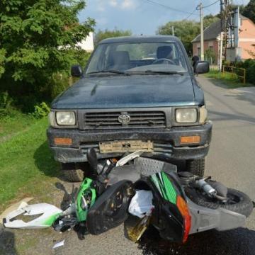 Frontálisan ütközött egy ittas motoros kocsival Mánfán