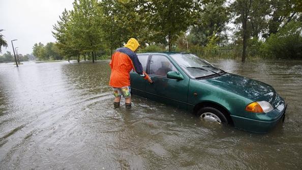 Mindent elborított a víz több településen