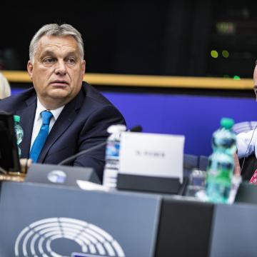 Orbán: el akarják venni Magyarországtól a határőrizet jogát