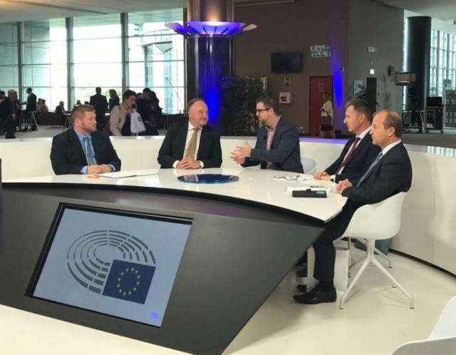 Az Európai Parlamentben tárgyalták a párkányi hulladékfeldolgozó ügyét