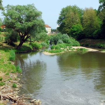 Körmenden és Sárváron is megújul a Rába árvízvédelmi rendszere