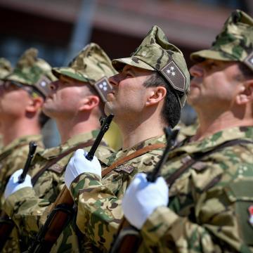 Az első világháború befejezésére emlékeznek az 5. Bocskai Lövészdandár tagjai is