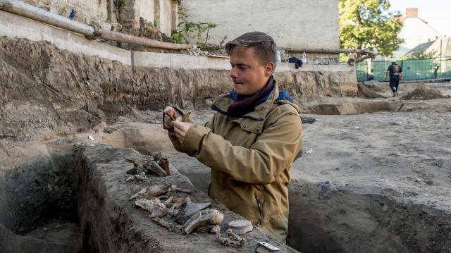 Különleges középkori leletekre bukkantak a feltáráson