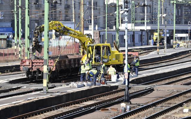 Mától két hétig karbantartás miatt zárva van a Déli pályaudvar