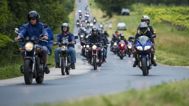 Motoros felvonulás miatt forgalomkorlátozás lesz több útszakaszon