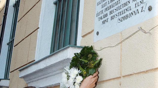 Szobonya Zoltánra emlékezett Kecskemét