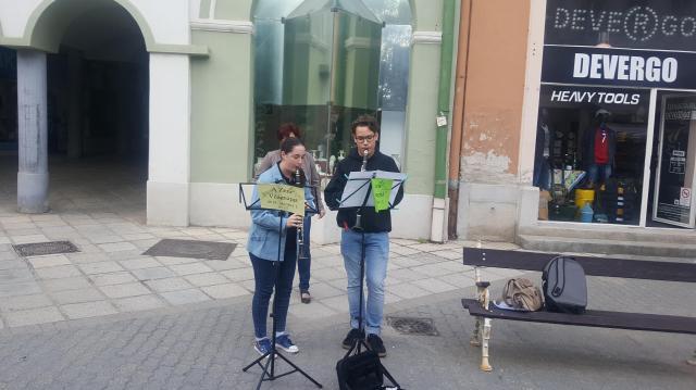 Zeneszóra ébredt Kaposvár