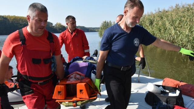 Vizsga - Romokból mentettek két megye katasztrófavédői