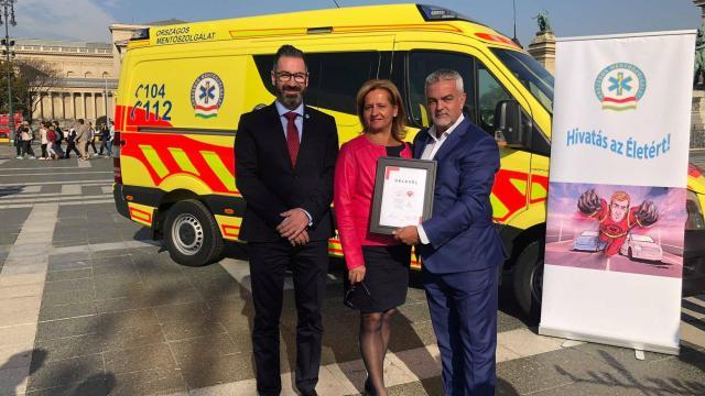 Élet Mentő Pont elnevezéssel indított kampányt a mentőszolgálat