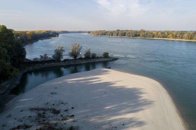 Jelentősen csökkenhet a vízi áruszállítás a Dunán