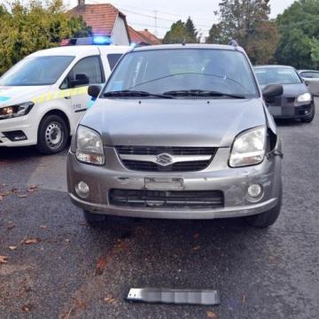 Két autó ütközött az Aranyossziget úton