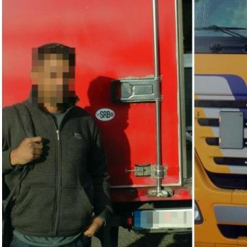 Két kamion, újabb két migráns