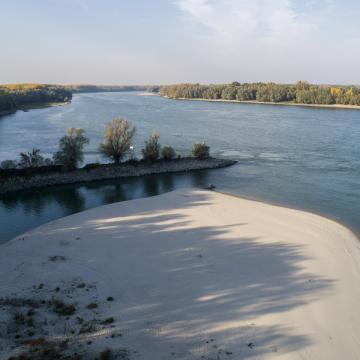 Újabb alacsony vízállási rekord a Dunán
