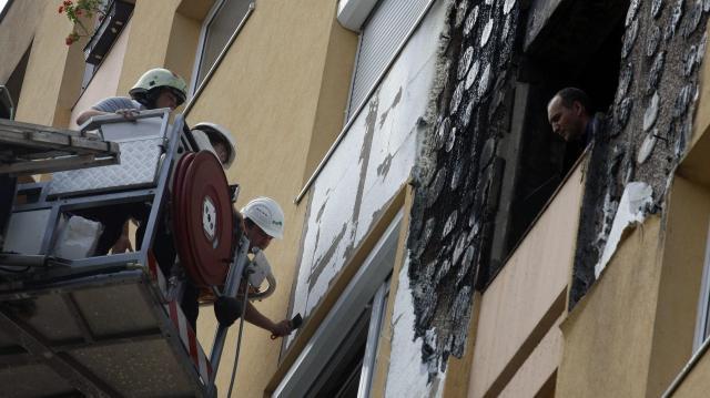 Holttan találtak egy idős férfit egy kigyulladt lakásban Budapesten