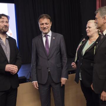 Horvát kisebbségi tervekről is tanácskozott a szábor elnöke Pécsen