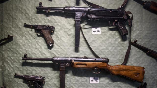 Második világháborús arzenált találtak Somogyban