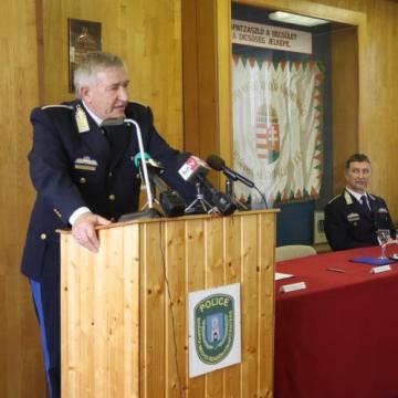 Új vezető a megyei rendőr-főkapitányság élén