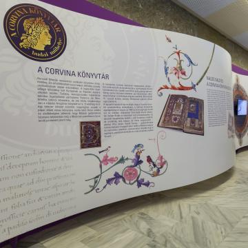 A Corvina könyvtár budai műhelye - Kiállítás az Országos Széchényi Könyvtárban