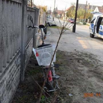 Elesett elektromos biciklijével egy ittas férfi