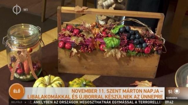 Libalakomák, újbor: Esztergomban is megülik Szent Márton napját - VIDEÓVAL