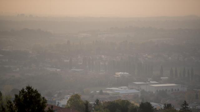 Térségünkben ismét nőtt a légszennyezettség