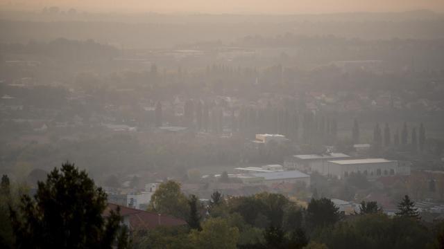 Továbbra is magas a légszennyezettség többfelé