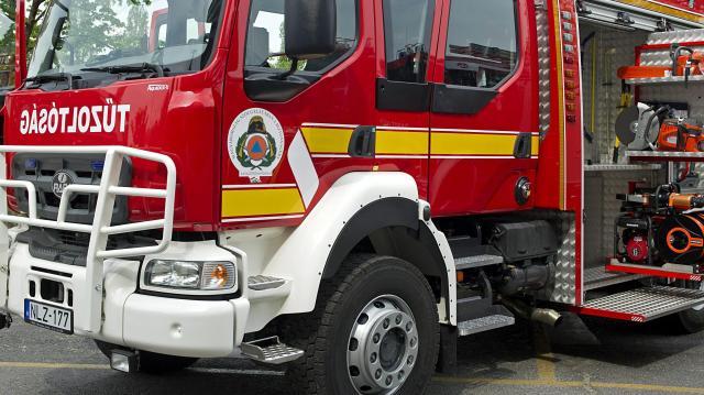 Tűz ütitt ki egy egy kisházban a Vaskapui úton