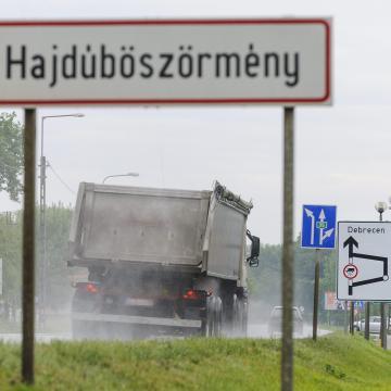 Arad utca – Dózsa György körút csomópontban végrehajtott forgalomtechnikai intézkedések