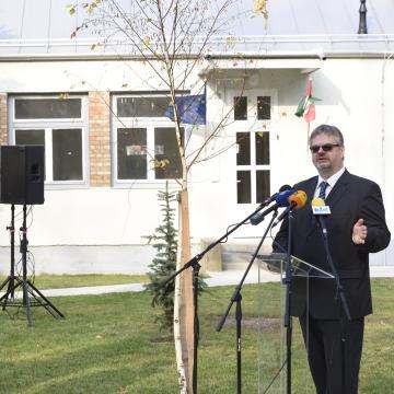 Átadták a makói levéltár új épületegyüttesét