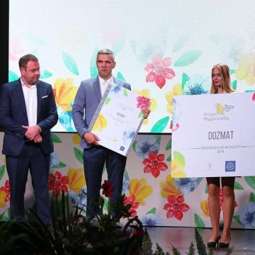 Csemő és Dozmat is fődíjat nyert a 25. környezetszépítő versenyen