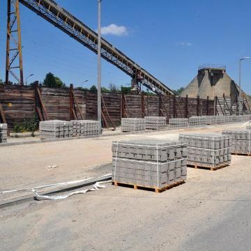 Félmilliárd forintból korszerűsítettek ipari parkot Kaposváron