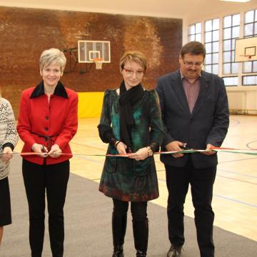 Két iskolánk sportfejlesztése is célba ért