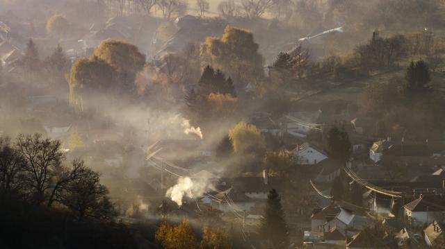 Országszerte csökkent a légszennyezettség
