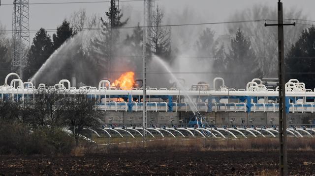 Gázömlés - Magyar Földgáztároló Zrt.: biztosított az ország gázellátása